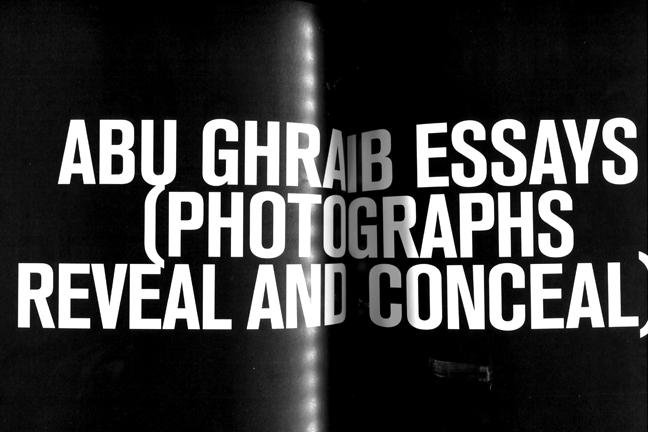 abu ghraib reveal-conceal